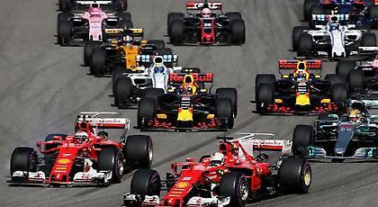 Με 21 αγώνες η Formula 1 το 2017