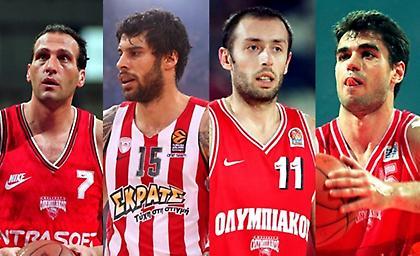 Οι 12+1 «θρύλοι» του Ολυμπιακού!
