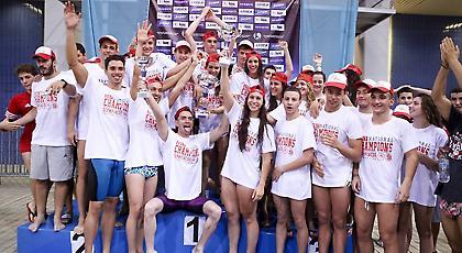 Πρωταθλητής ο Ολυμπιακός στην κολύμβηση για 22η σερί φορά
