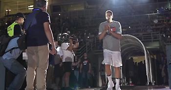 Antetokounbros: Η αποθέωση της χρυσής Εθνικής στο ΟΑΚΑ! (video)