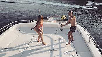 Η σύζυγος του Κόβατσιτς παίζει μεγάλη μπάλα (video/pics)