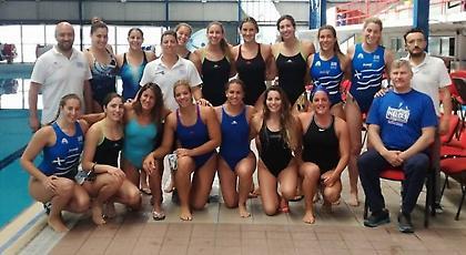 Ετοιμάζεται για Ισπανία η Εθνική πόλο γυναικών