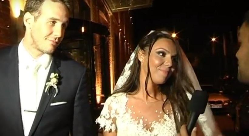 Παντρεύτηκαν Δημήτρης Βεργίνης και Ελεάνα Παπαϊωάννου (video)