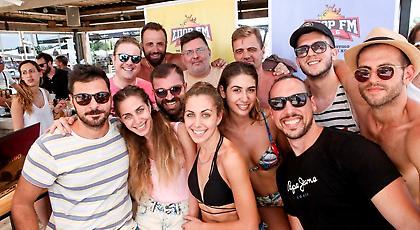ΣΠΟΡ FM 94,6 μαγεία και στην παραλία! (pics)