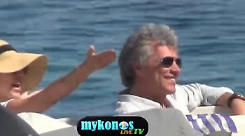 Bίντεο: Ο Jon Bon Jovi στην Ψαρρού