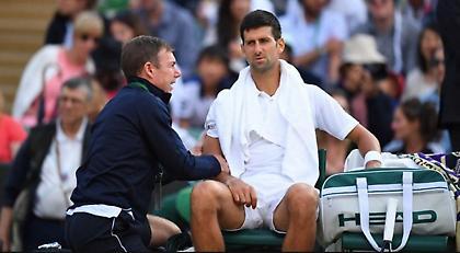 Αποσύρθηκε από το Wimbledon ο Τζόκοβιτς!