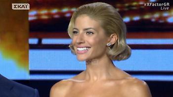 X Factor: Ντεκολτέ… θάνατος η Ευαγγελία Αραβανή! (video)