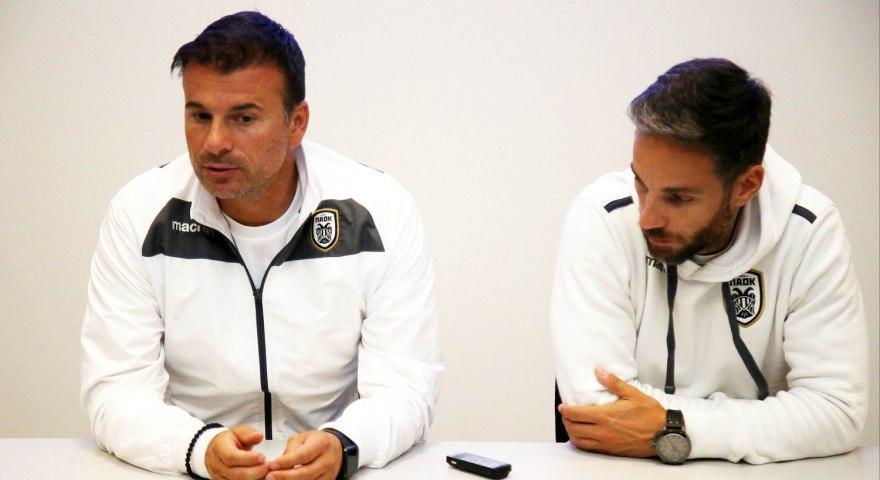 Στανόγεβιτς: «Οι παίκτες αισθάνονται καλύτερα με το 4-2-3-1»
