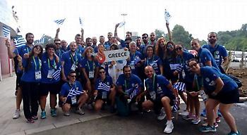Η Ελλάδα στην εντυπωσιακή τελετή έναρξης των 23ων Θερινών Ολυμπιακών Αγώνων Κωφών (pics, video)