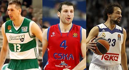 Οι 5+3 «θρύλοι» της Ευρωλίγκας που δεν έπαιξαν στο NBA