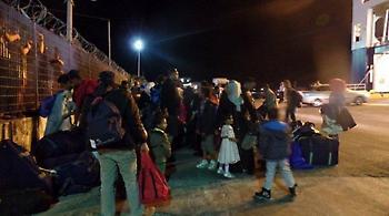 Χίος: 2.223 πρόσφυγες έφυγαν προς την ενδοχώρα από τον Ιανουάριο