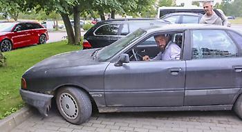 Με… σαράβαλο στην προπόνηση της Λιθουανίας ο Βαλαντσιούνας (pics)
