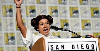 Σαν Ντιέγκο: Φόρος τιμής στην πριγκίπισσα Λέια του Star Wars
