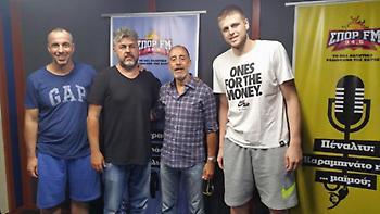 Λιμνιάτης στον ΣΠΟΡ FM: «Το μεγαλύτερο μετάλλιο θα είναι τα παιδιά αυτά να παίξουν μπάσκετ»