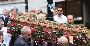 Κηδεύτηκε η 8χρονη Σάφι Ρούσσου που είχε σκοτωθεί στο Manchester Arena
