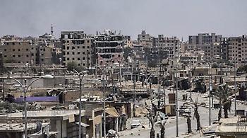 Υποχωρούν οι τζιχαντιστές: Στα μισά της πόλης Ράκκα οι απελευθερωτικές δυνάμεις