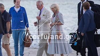 Φωτογραφίες: Ο Κάρολος και η Καμίλα στην Κέρκυρα για διακοπές