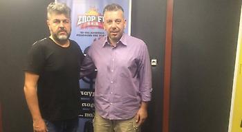 Live: Ο Ηλίας Παπαθεοδώρου στον ΣΠΟΡ FM 94,6