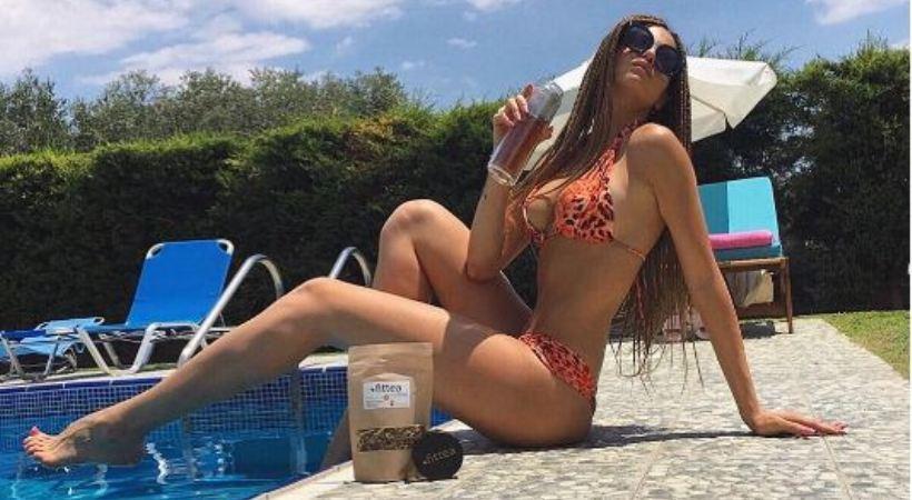 Ο σέξι χορός της Δήμητρας Αλεξανδράκη στην πισίνα (video)