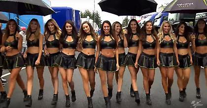 Τα paddock girls έκαναν πάταγο στο Μπρνο (video)