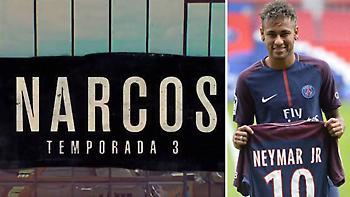 ΕΠΙΚΟ: Εμπνευσμένο από τη μεταγραφή του Νεϊμάρ το trailer του Narcos (video)