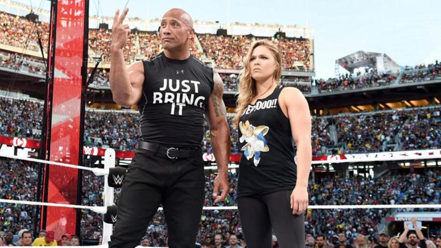 Προπονείται για το WWE η Ράουζι