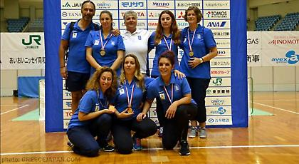 Χάλκινο μετάλλιο για την Εθνική ομάδα γκόλμπολ γυναικών στην Ιαπωνία