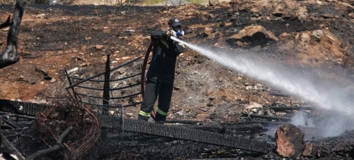 Μάχη με τις φλόγες στην Ιεράπετρα -Υπό μερικό έλεγχο η φωτιά στους Αρμένους