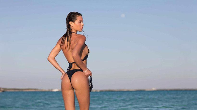 Σίλβια Καρούσο: «Κολάζει» το Instagram με τις αναλογίες και τις πόζες της