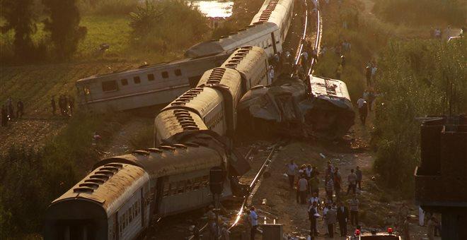 Περισσότερα από 12.230 σιδηροδρομικά δυστυχήματα στην Αίγυπτο σε μία 10ετία