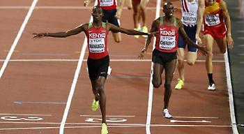 Κυριάρχησε η Κένυα στα 1.500μ.