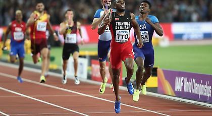 Παγκόσμιοι πρωταθλητές στα 4Χ400 το Τρίνινταντ και Τομπάγκο!