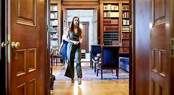 Η συνάντηση της Κατερίνας Στεφανίδη με τον Προκόπη Παυλόπουλο (pics)