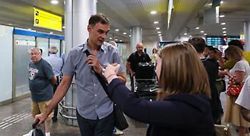 Έφτασε Μόσχα ο Μπαρτζώκας