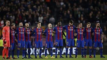 Τίμησαν τα θύματα των επιθέσεων οι ομάδες της La Liga (pics/video)
