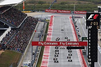 Με δύο Grand Prix στην Αμερική η F1
