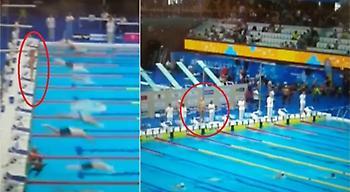 Ισπανός κολυμβητής αρνήθηκε να αγωνιστεί, κρατώντας μόνος του ενός λεπτού σιγή για τη Βαρκελώνη!