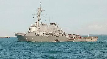 Ελληνικών συμφερόντων το δεξαμενόπλοιο που συγκρούστηκε με πολεμικό των ΗΠΑ στη Σιγκαπούρη