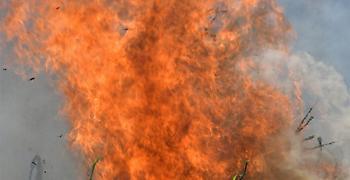 Δασική πυρκαγιά στο Ρυτό Κορινθίας