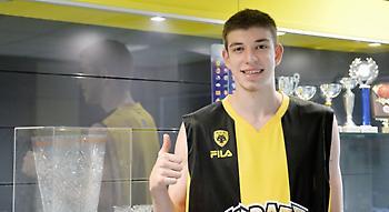 Ρογκαβόπουλος: «Ανυπομονώ να παίξω για την ΑΕΚ»