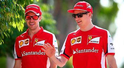 Ο Ραϊκόνεν επιθυμεί την παραμονή του Φέτελ στη Ferrari