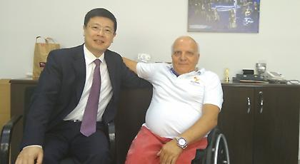 Συνάντηση Γιώργου Φουντουλάκη με τον Πρέσβη της Κίνας στην Ελλάδα