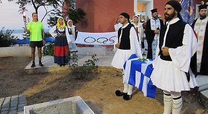 Στην Πύλο επέστρεψαν μετά από 104 χρόνια τα οστά του Ολυμπιονίκη Κωστή Τσικλητήρα (pics)