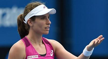 «Νοκ άουτ» από το USA Open η  Κόντα