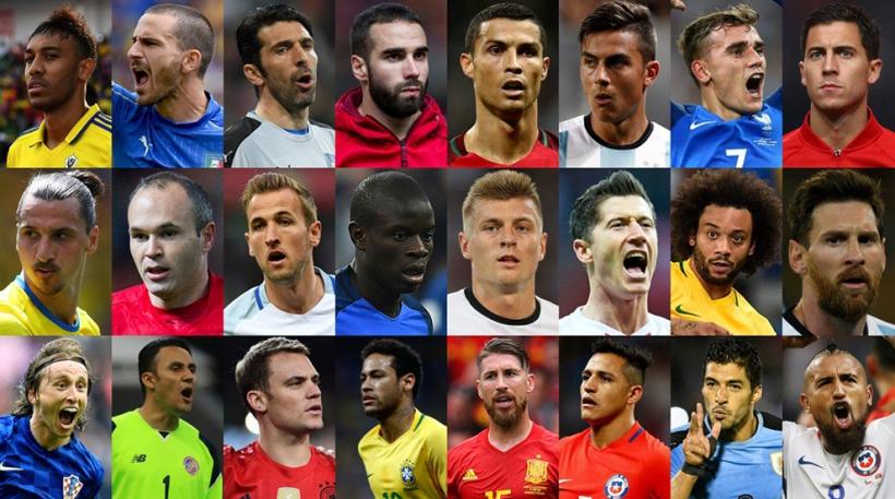 Αυτοί είναι οι υποψήφιοι για το βραβείο του καλύτερου παίκτη της FIFA