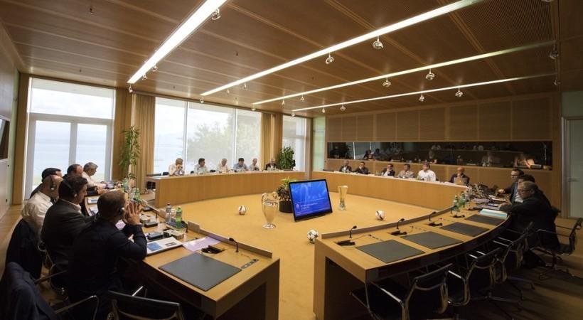 Σε εξέλιξη η συνεδρίαση των προπονητών των κορυφαίων ευρωπαϊκών ομάδων στα γραφεία της UEFA