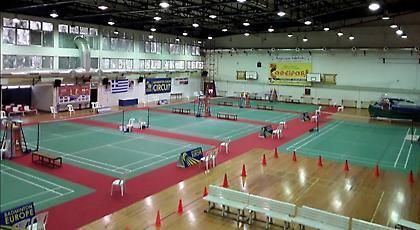 Ξεκινάει το διεθνές τουρνουά μπάντμιντον της Λιβαδειάς