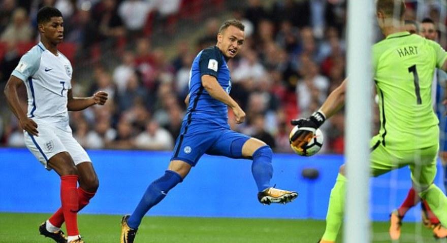 Σοκάρει την Αγγλία η Σλοβακία με «δώρο» Ράσφορντ (video)