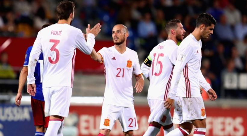Οκτάρα η Ισπανία, καταδιώκει η Ιταλία, τετέλεσται για Αλβανία! (video)