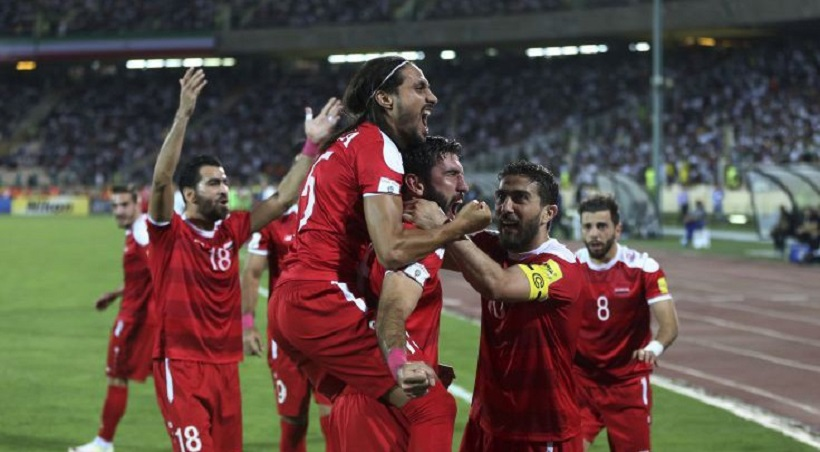 Ξελαρυγγιάστηκε κι έβαλε τα κλάματα ο σπίκερ στο γκολ της Συρίας! (video)